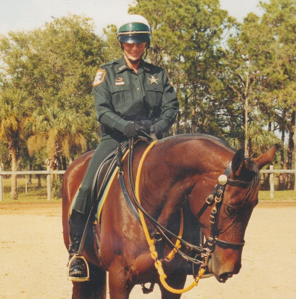 Mounted Pose
